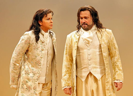 Susan Graham as Xerxes and David Daniels as Arsamenes - CORY WEAVER
