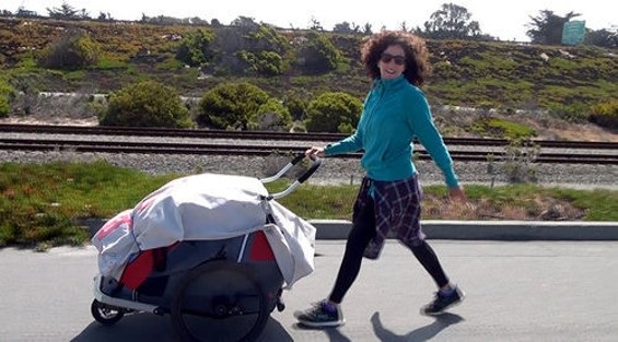 Suzana Barbosa, on the road from L.A. to Mountain View to tell the world about the predicament of musicians.