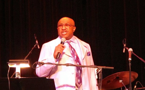 Swamp Dogg at Yoshi's on Sunday. All photos by Jesse Tampa.