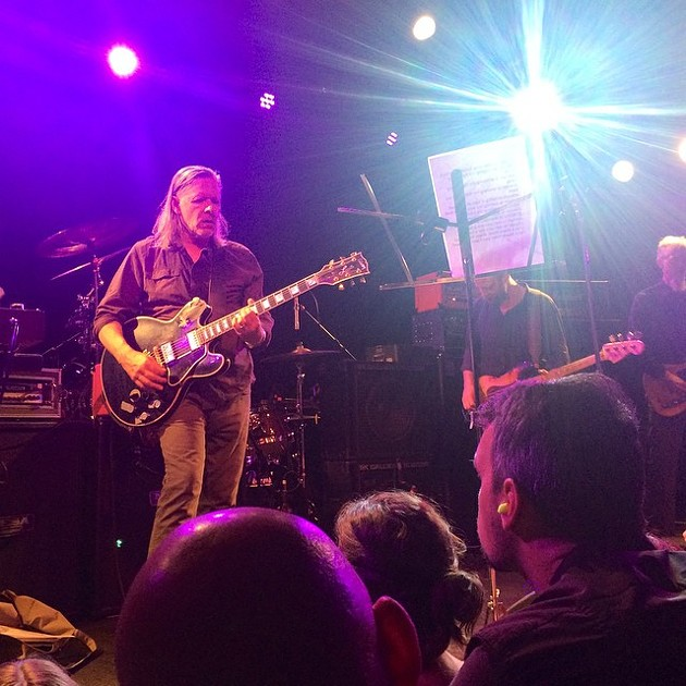 Swans at The Independent, Sept. 8 2014. - MICHAEL DURAND