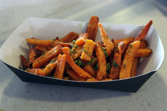 Sweet potato fries at Murphy's Pub - ERIN BROWNER