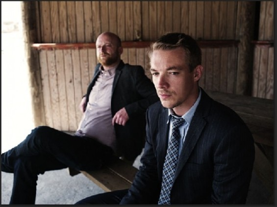 Switch (left) and Diplo. No word on whether the jumping guy from the Major Lazer video (aka Skerrit Bwoy) will show up.