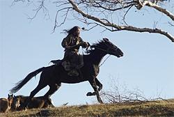 Tadanobu Asano plays everyone's favorite kickass emperor, Genghis Khan.