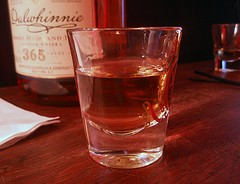 Take a shot while being shot on streaming web video. - MYKL ROVENTINE/FLICKR