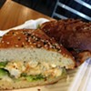 Take The Cable Car to Terminus For A Deviled Egg Sandwich and BBQ Eggplant Sandwich