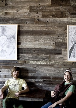 JEN SISKA - Taking it way beyond soup: owners  David Muller and Lana Porcello.