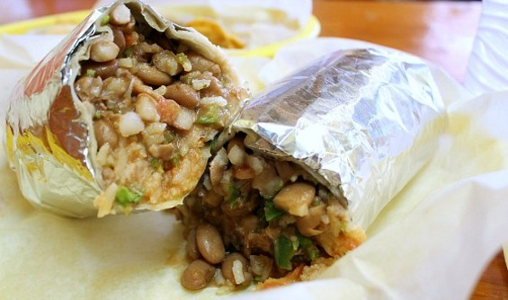 Taqeria Cancun's burrito is a perennial S.F. favorite. - KATE WILLIAMS