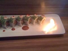 Tataki's Fire Extinguisher roll. - JM3/FLICKR