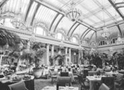 ANTHONY  PIDGEON - Tea for Two -- or Twenty: The Garden Court at the Palace - Hotel.