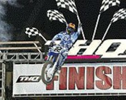 STEVE  BRUHN - Team Yamaha's Chad Reed in action.