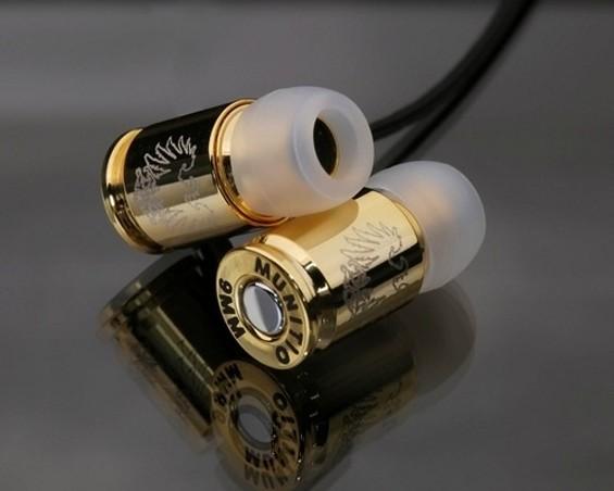 Teknine Nine Millimeter earphones by  MUNITIO - VIA GIZMODO.COM