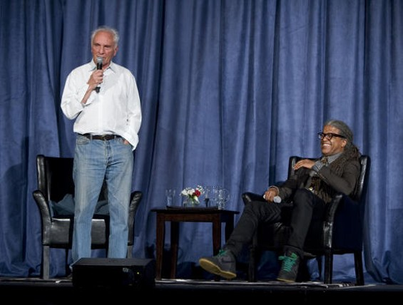 Terence Stamp and Elvis Mitchell - TOMMY LAU
