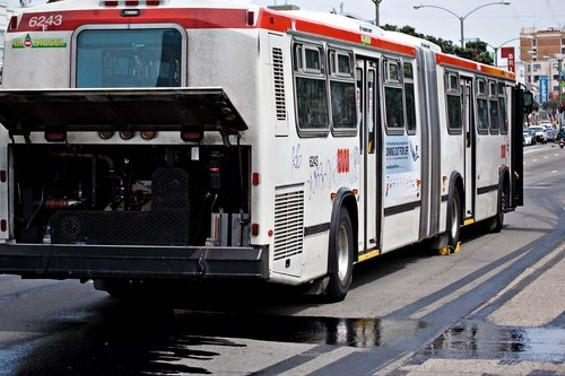 Thank God we only have our regular Muni complaints to complain about - JIM HERD