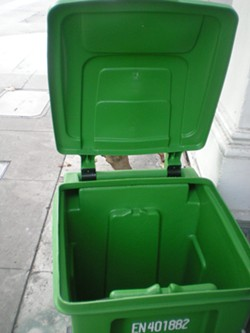 'That new composting bin smell...' - JOE ESKENAZI