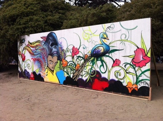 THE FINISHED VERSION OF THE SECOND MURAL.