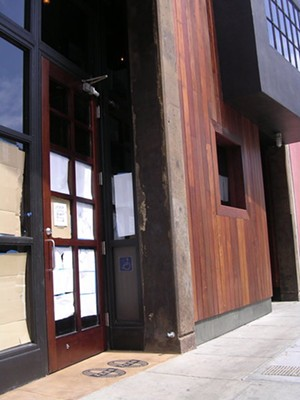 The 130-seat pizzeria is in the former Azie space on Folsom. - JOHN BIRDSALL