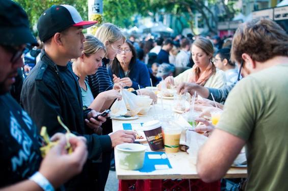 The 2010 Street Food Festival. - CHRIS MACARTHUR