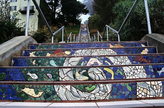 The Artsy Step Climber - JUAN DE ANDA/ SF WEEKLY