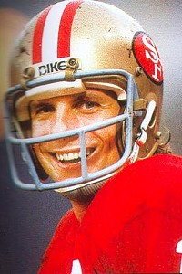 The atypical Joe Montana...