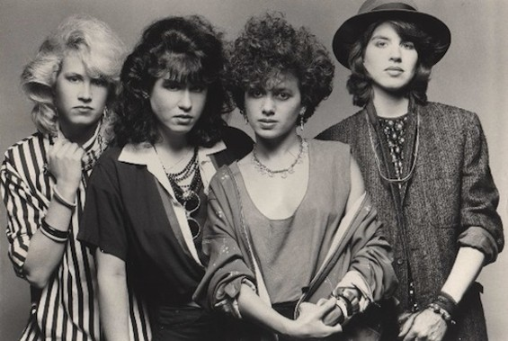 The Bangles, '80s badasses and Paisley Underground flag-bearers, starin' at you like what. They play the Fillmore tonight.