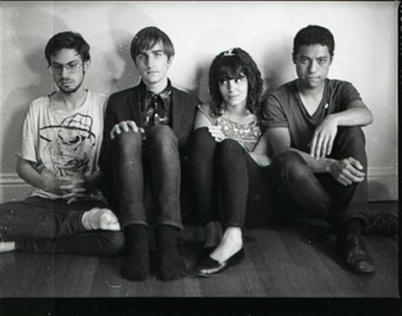 The Baths (L-R): Tanner Griepentrog, Jeremy Cox, Sheila Imandoust, Jigmae Baer - MADELINE ALLARD