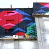 Highwire Act: Mural by Day, Light Show by Night