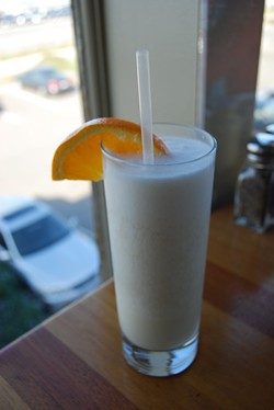 The Beach Chalet's version: Frothy morning goodness - KIRSTEN.C VIA FLICKR
