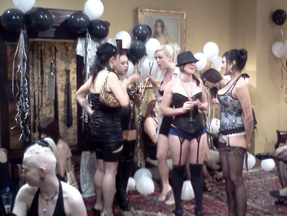 The Beginning of a Sexy Party