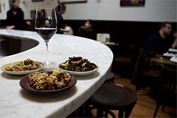 JEN SISKA - The best little dishes of the year were created at SPQR.