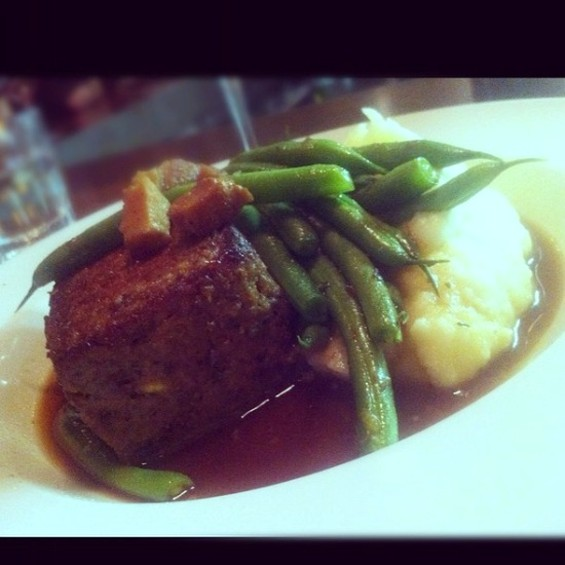 The Blue Plate's Meatloaf