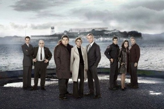 The cast of Alcatraz, who are probably in Vancouver right now. - FOX