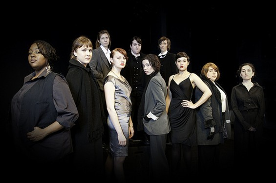 The cast of Bill Peters' production of Hamlet. - NINA DE TORRES IGNACIO