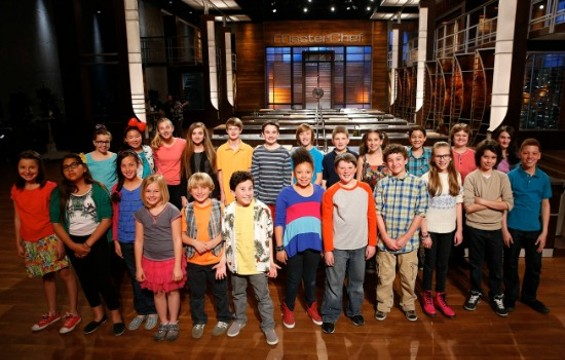 The cast of MasterChef Junior - GREG GAYNE/FOX