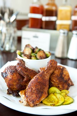 MELISSA BARNES - The chicken is consistently spectacular.