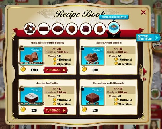 The chocolate-making game's been averaging 800,000 plays a month. - PLAYFIRST VIA SFGATE