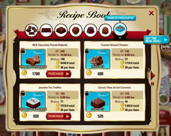 click to enlarge The chocolate-making game's been averaging 800,000 plays a  month. - PLAYFIRST VIA SFGATE