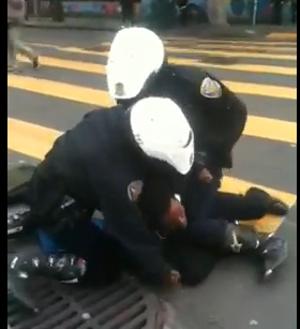 The cops vs. Kevin Clark - GRIZ415 VIA YOUTUBE