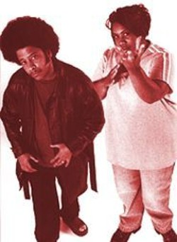 The Coup: Boots Riley and Pam the Funkstress.
