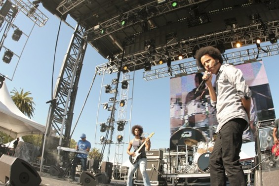 The Coup performing at Treasure Island - CHRISTOPHER VICTORIO