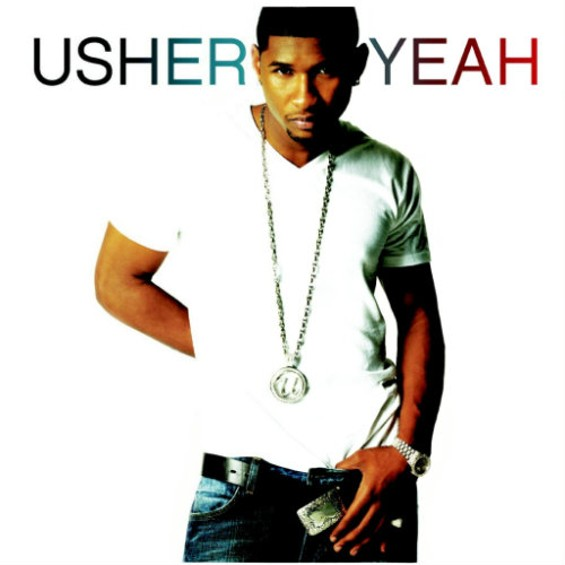 """The cover art for Usher's """"Yeah!"""" single"""
