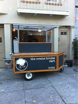 THE CREME BRULEE CART/ TWITTER
