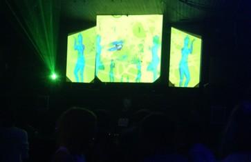 The crowd at RDMWERK at F8, Friday Sept. 5. - CHRIS ZALDUA