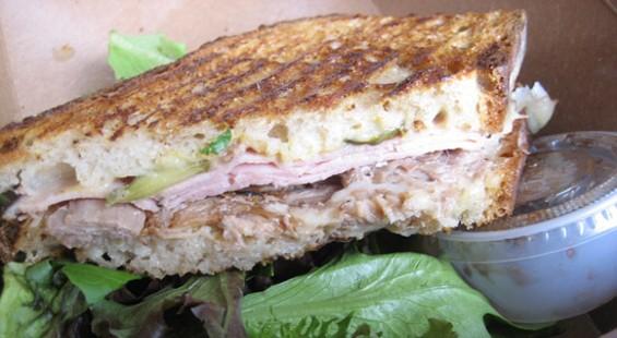 The Cuban: pork confit, Zoe's Black Forest ham, Swiss cheese, mustard, pickle ($11). - JONATHAN KAUFFMAN