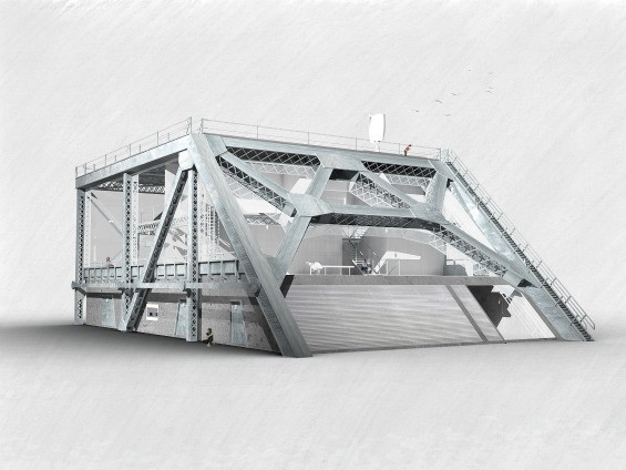 The current design for the Bay Bridge House - BAY BRIDGE HOUSE PROJECT