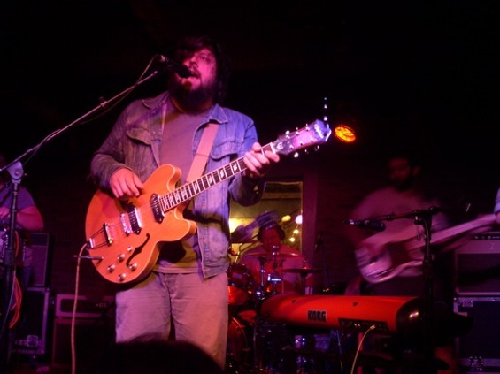 The Dear Hunter at Bottom of the Hill on Friday night.