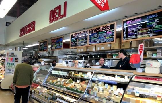 The deli counter at the new Bi-Rite Market on Divisadero. - ANNA ROTH