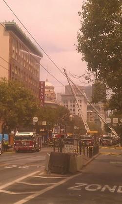 "The ""devastating"" fire... - JOE ESKENAZI"