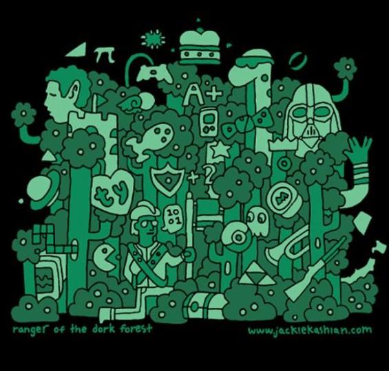 The Dork Forest logo