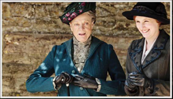 """The Dowager Countess is all, """"Hold my gloves, dear. I'm about to hulk out."""""""