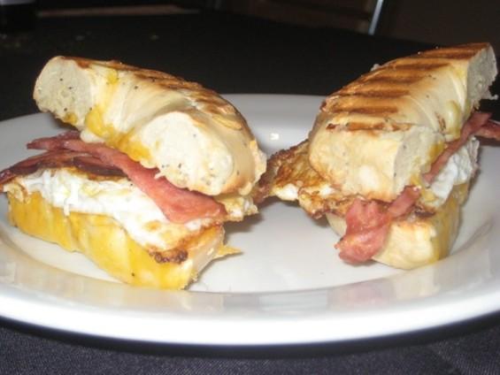 The Dr. Peter Venkman of breakfast sandwiches? - C. ALBURGER
